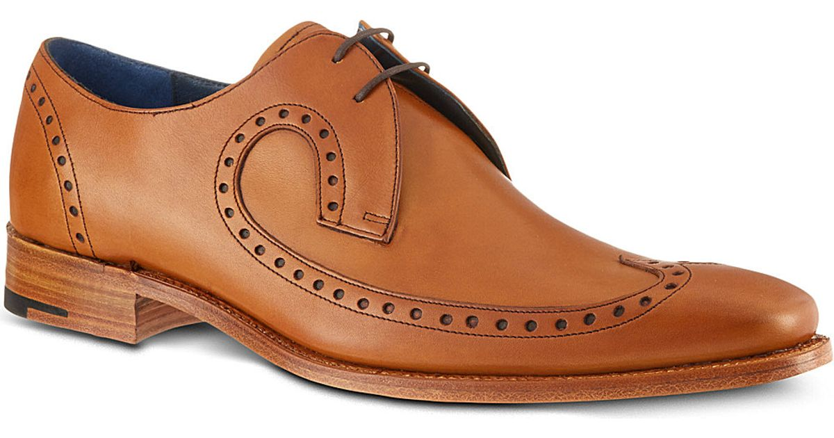 Barker Woody Black Shoes