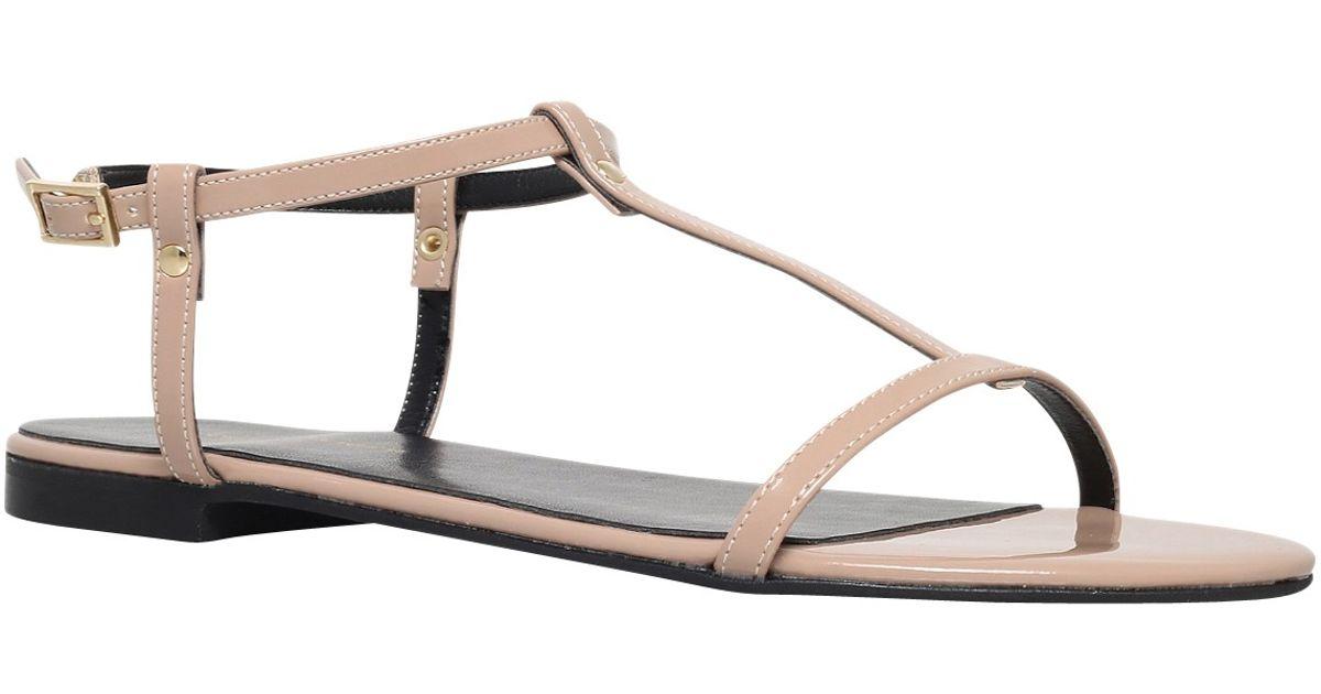 Carvela Kurt Geiger Leather Kupcake High Wedge Heel