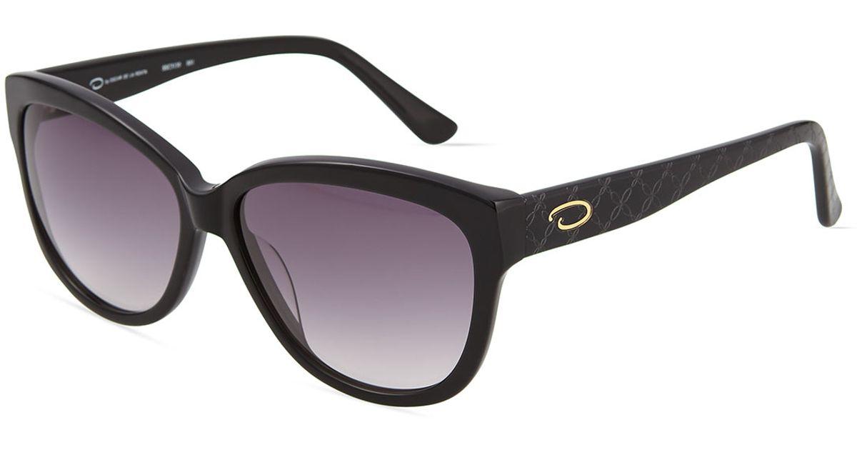 Oscar De La Renta Sunglasses Cat Eye