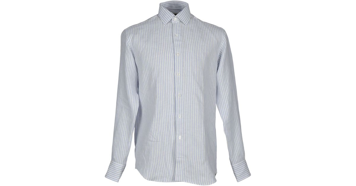emma willis shirts ~ emma willis shirt in blue for men (sky blue)  save 35%  lyst