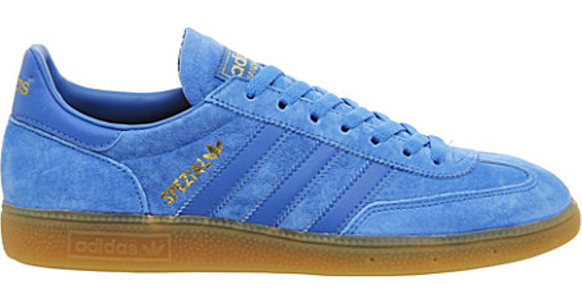 adidas Spezial Suede Trainers in Blue