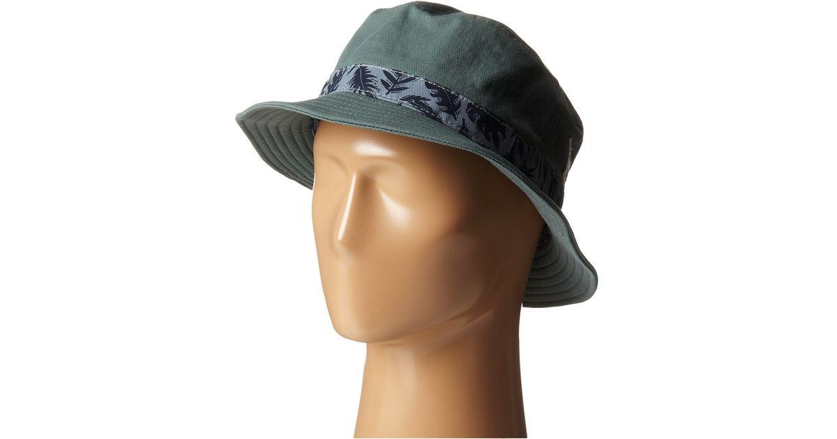 a089e5dc Vans Kaplan Bucket Hat in Green for Men - Lyst