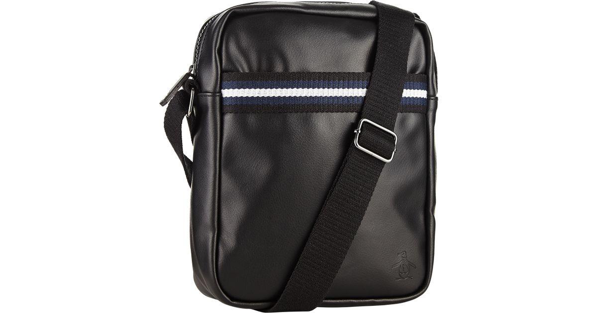 Original Penguin Festival Bag in Black for Men - Lyst 0541e1d6dff99