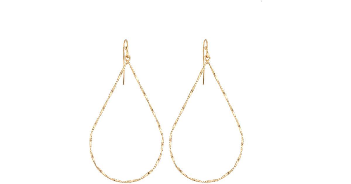 Panacea Golden Teardrop Earrings 49YNhNWpoK