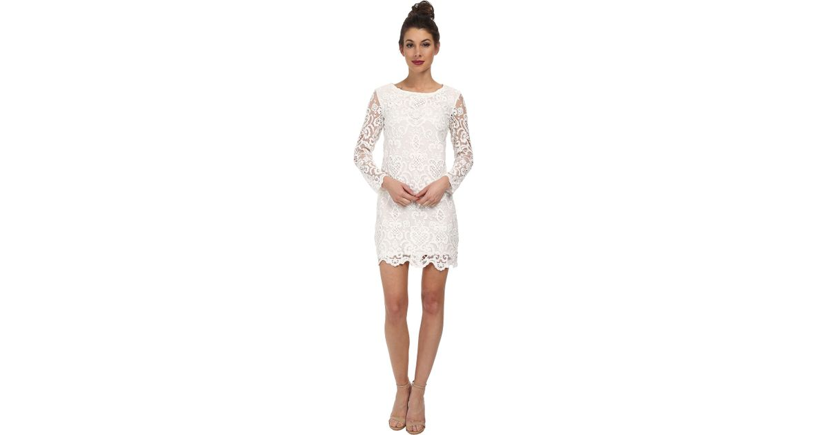French Connection Womens Short Zahra Lace Dress