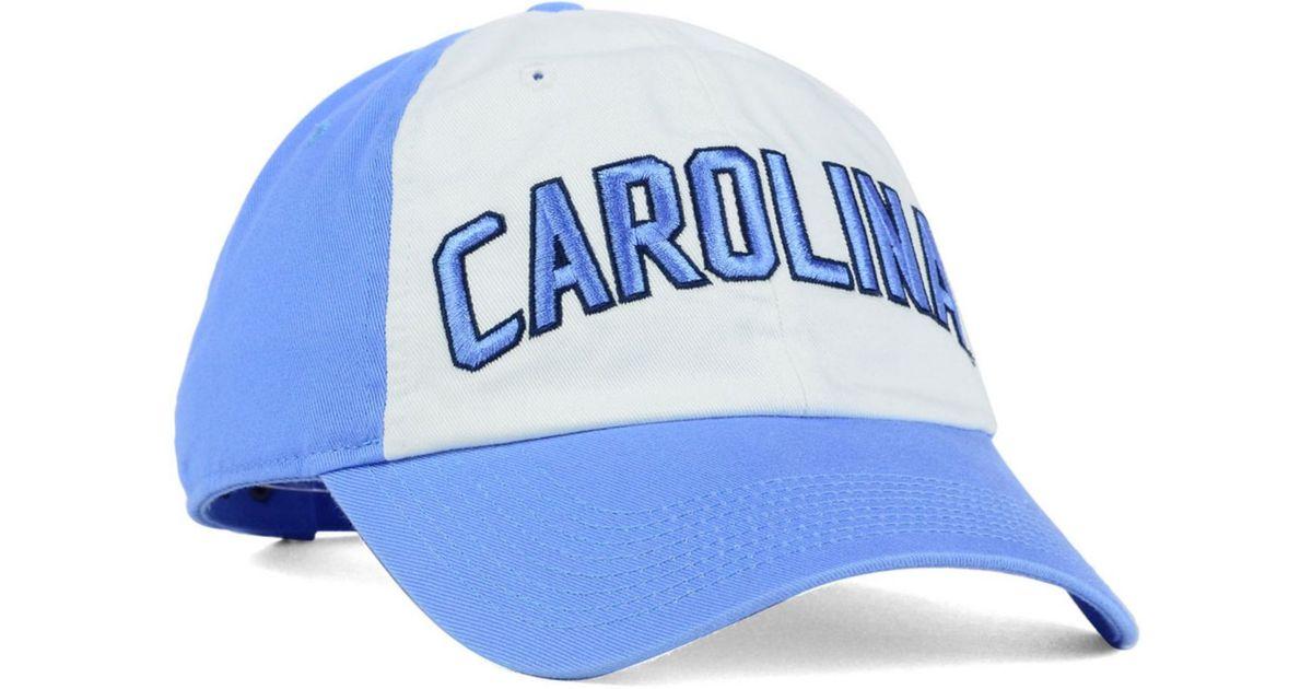 new product 2464c 72c92 Nike North Carolina Tar Heels Heritage 86 Wordmark Cap in Blue for Men -  Lyst