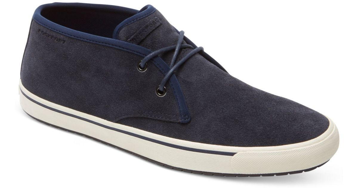 Rockport Ptg Low Top Chukka Boots in