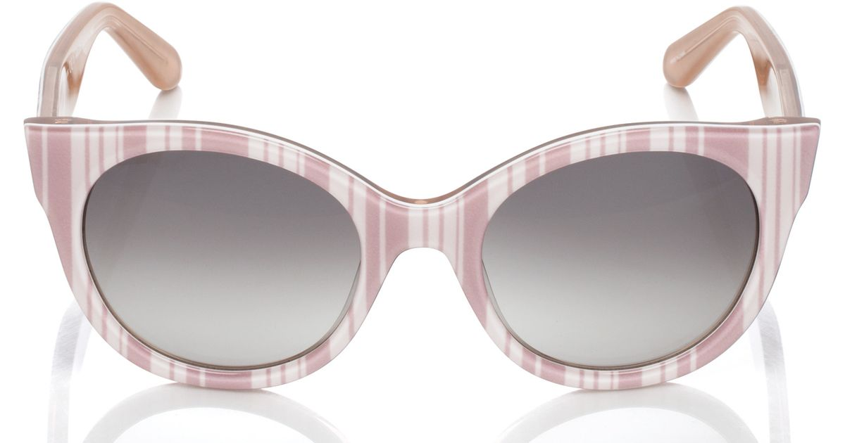 c8b292c550 Lyst - Kate Spade Melly Sunglasses in Natural