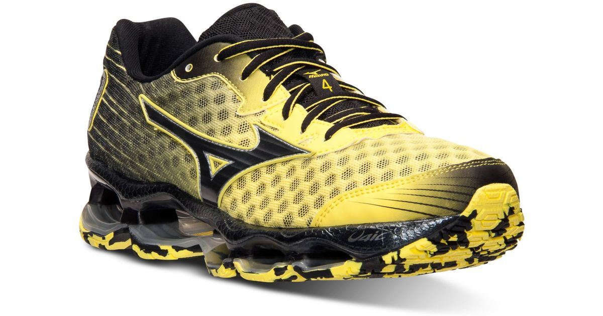64e6235c499a Mizuno Men's Wave Prophecy 4 Running Sneakers From Finish Line in Black for  Men - Lyst