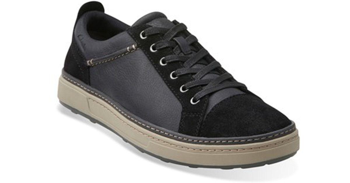 Edge' Lyst Clarks Sneaker In 'lorsen Black Men For 7ymYbgvIf6