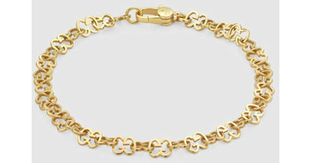 Gucci Icon bracelet in yellow gold Fmf7EC