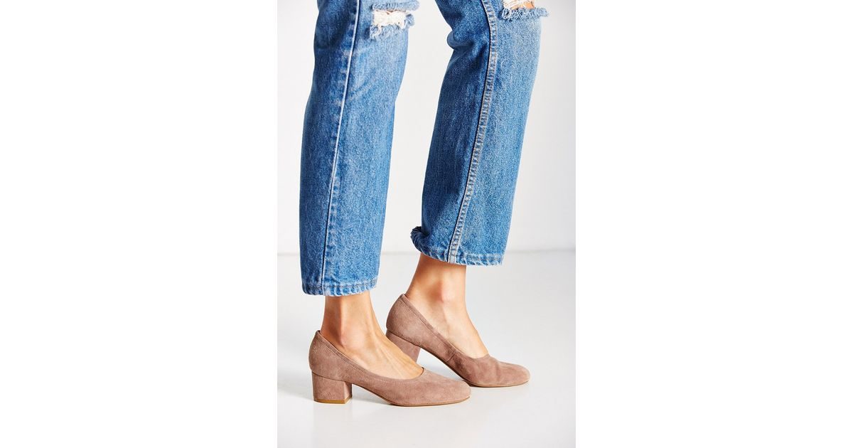 e6dab661084a Jeffrey Campbell Bitsie Heel in Brown - Lyst