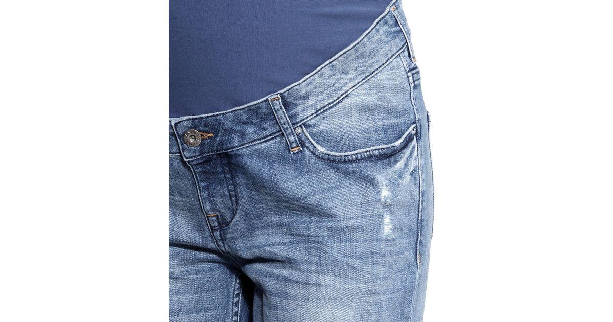 cb6d7d80689ca H&M Mama Boyfriend Jeans in Blue - Lyst
