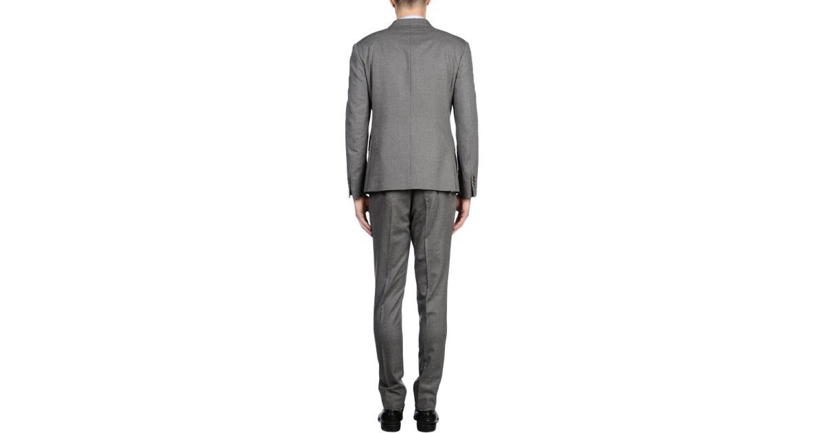 Atelier scotch suit in gray for men lyst for Atelier maison scotch