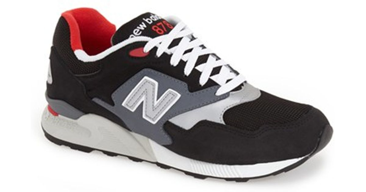 3d525af2fd80 Lyst - New Balance  878  Sneaker in Black for Men