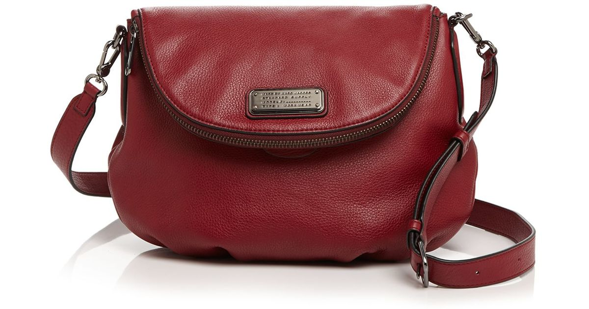 f6a30bde139e Marc By Marc Jacobs Crossbody - New Q Natasha in Red - Lyst