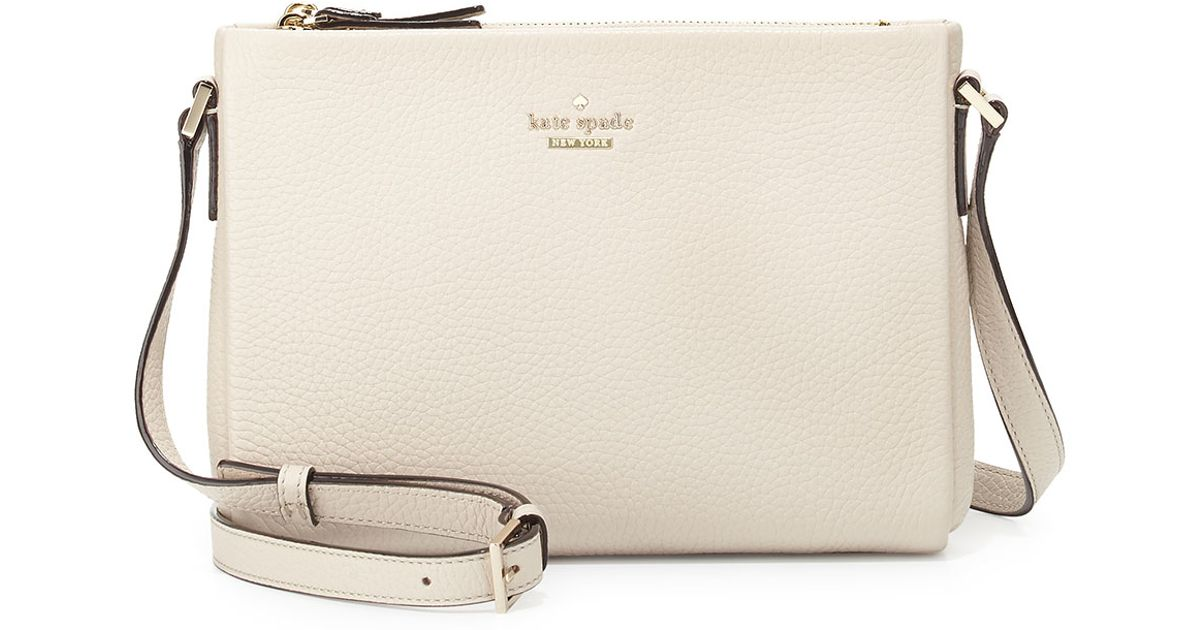 Lyst Kate Spade New York Holden Street Lilibeth Crossbody Bag In Natural