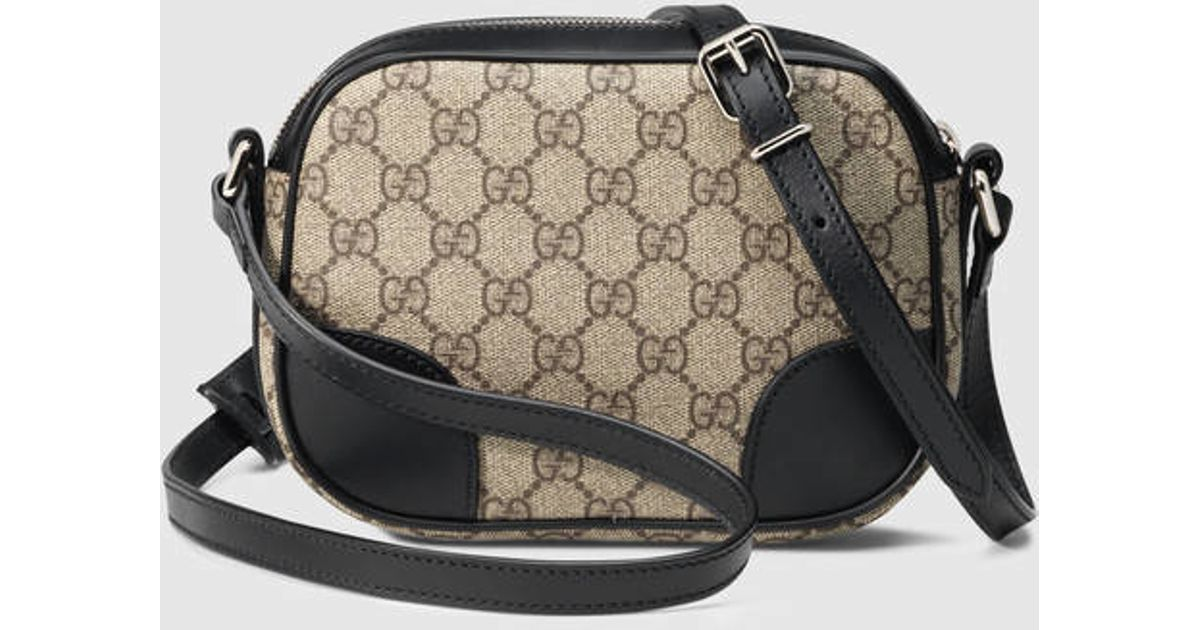 e98dfc8e40a Lyst - Gucci Small Gg Supreme Shoulder Bag