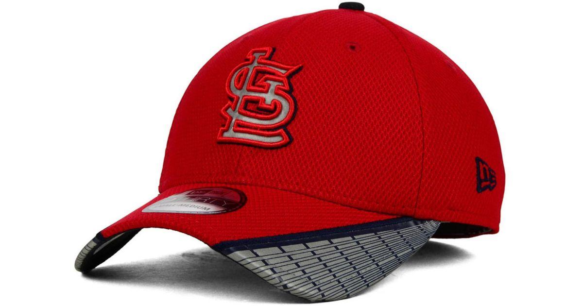 quality design 5319b f255f KTZ St. Louis Cardinals Reflective Slugger Diamond Era 39Thirty Cap in Blue  for Men - Lyst