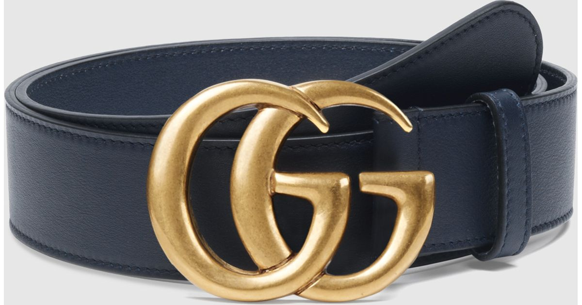 e8158b3cfe0 Gucci Belt With Double G Buckle Ebay
