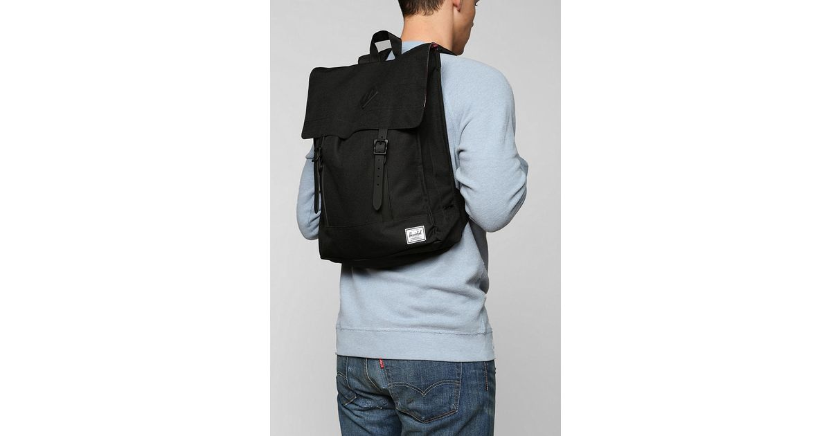 03e16d4655c Lyst - Herschel Supply Co. Herschel Supply Co Survey Weather Backpack in  Black for Men