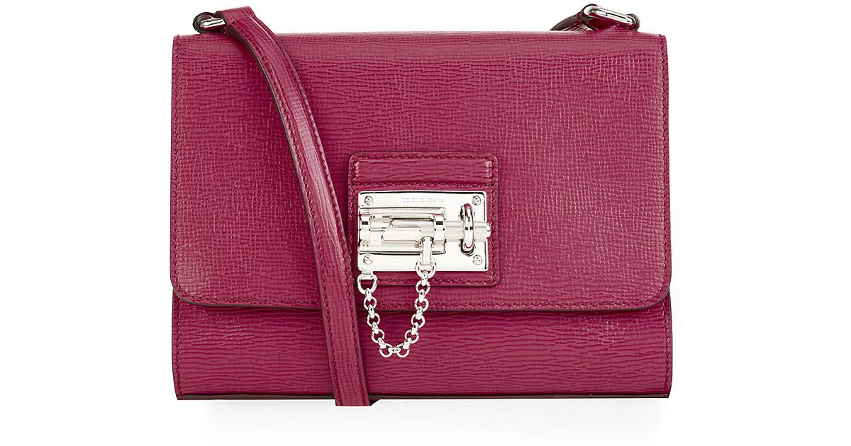 Dolce   Gabbana Small Monica Tote in Purple - Lyst 34320c2befce2