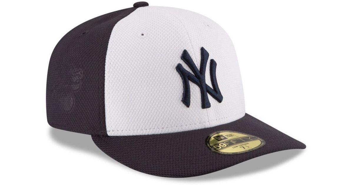 timeless design 73842 aaef4 KTZ New York Yankees Low Profile Diamond Era 59fifty Cap in Orange for Men  - Lyst