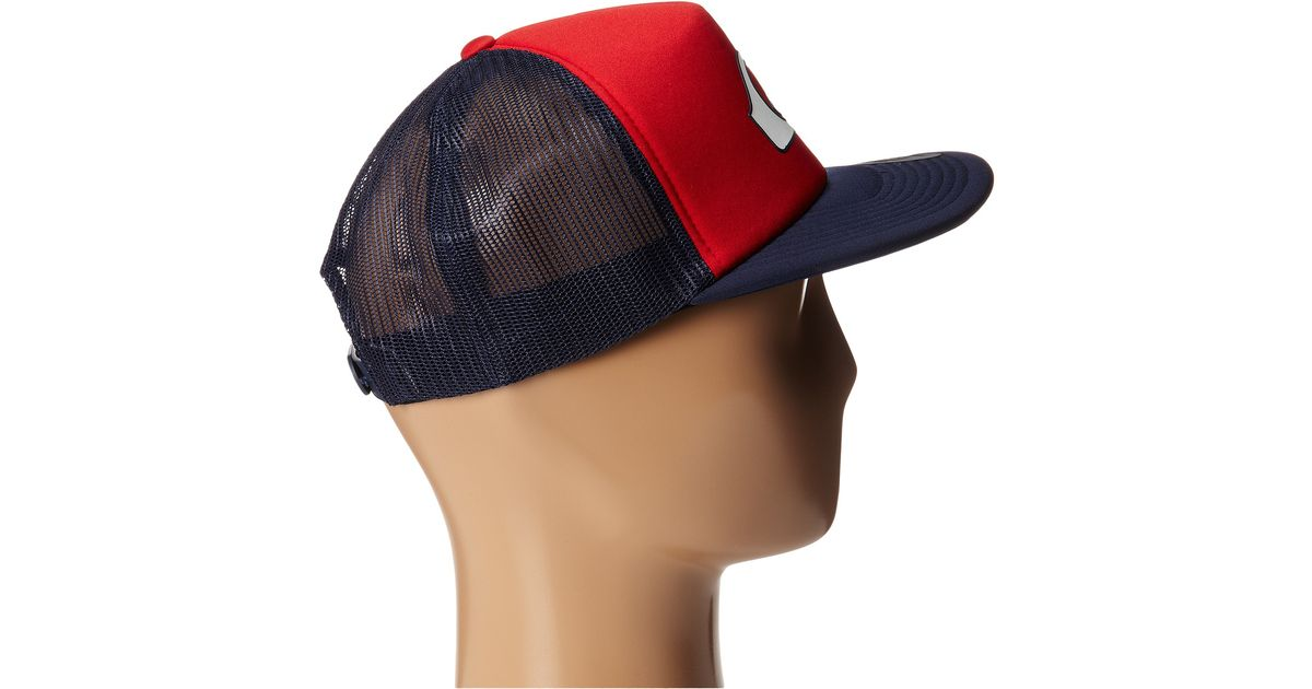 9ce4ba49c2767 Lyst - Quiksilver Snapper Trucker Hat in Blue for Men