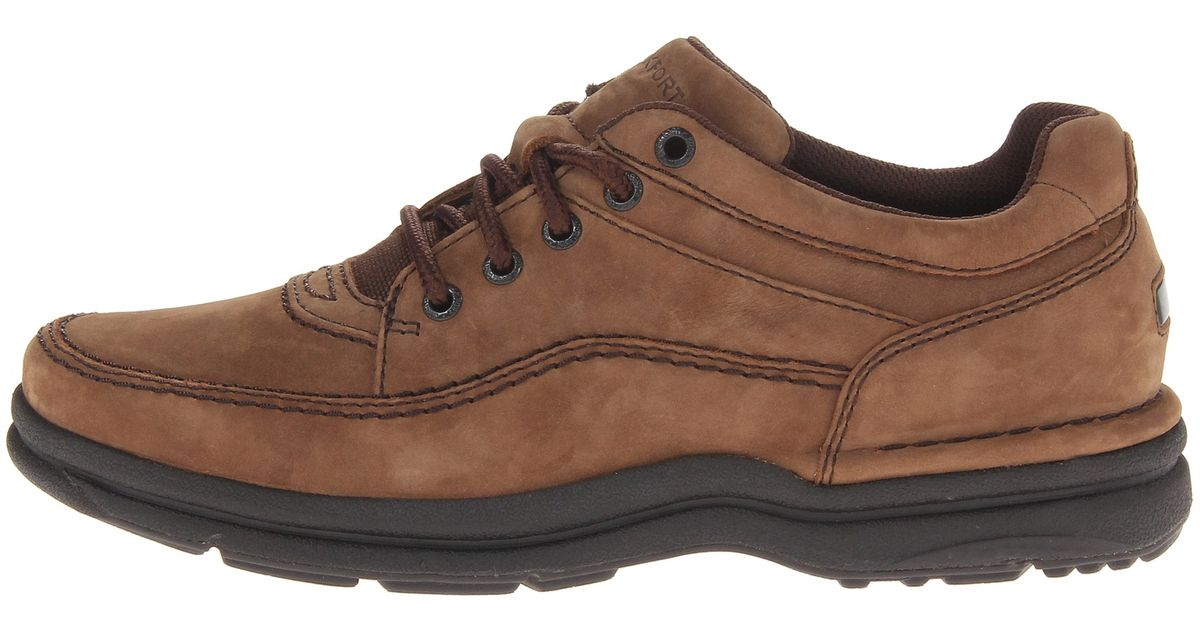 Rockport World Tour Classic In Brown For Men Chocolate