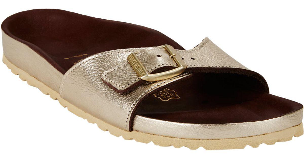separation shoes 2514d 22aad Birkenstock Metallic Madrid Sandals