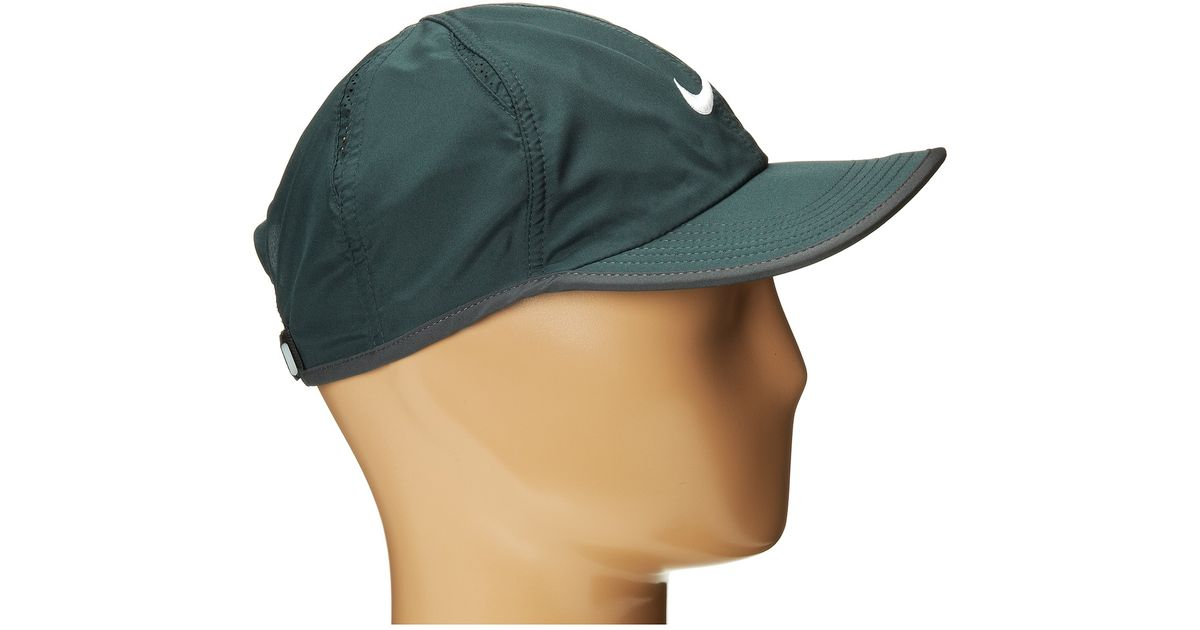 Lyst - Nike Featherlight Cap 2.0 in Gray d310e81a66b