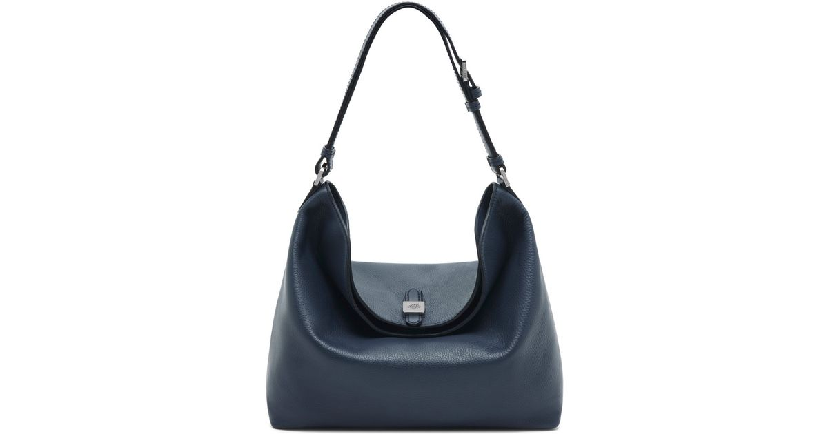 1cf91d9c9d34 ... promo code for lyst mulberry tessie hobo bag in blue 94c4c 04b97