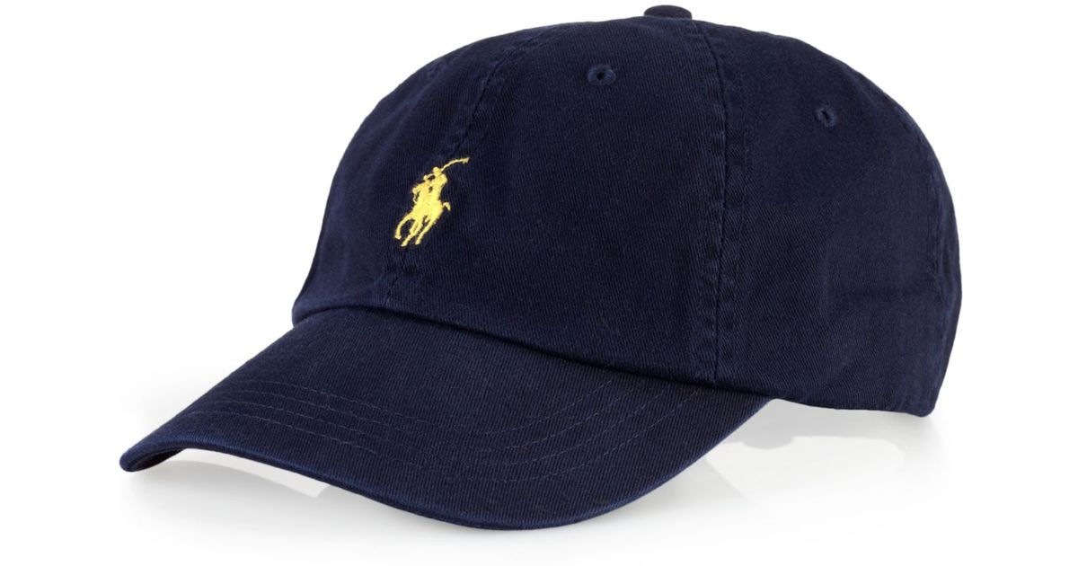 c63f48dc3 Polo Ralph Lauren Core Classic Sport Cap in Blue for Men - Lyst
