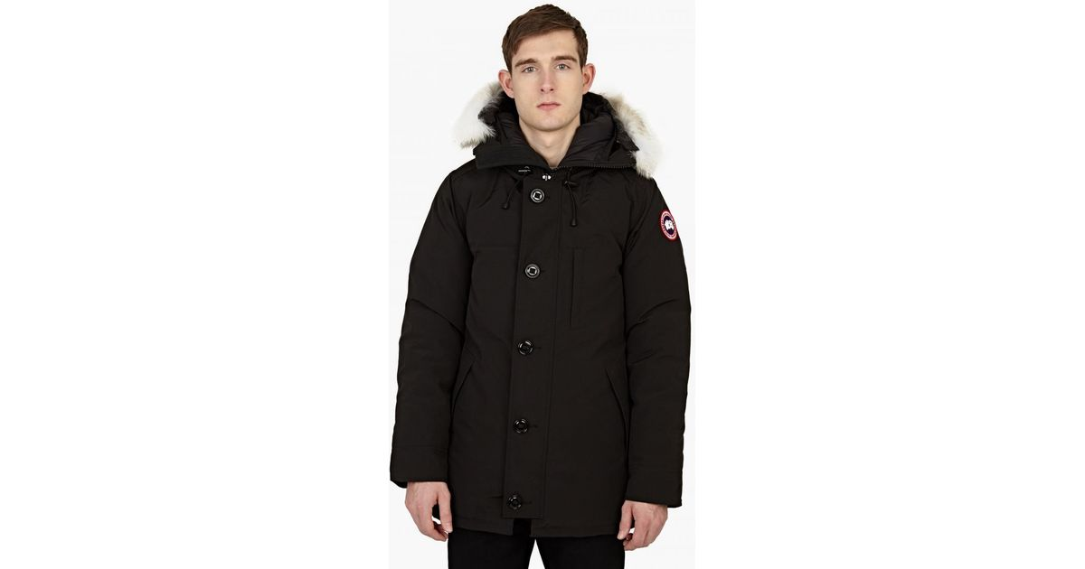 Canada Goose vest outlet shop - Canada goose Chateau Parka in Black for Men | Lyst