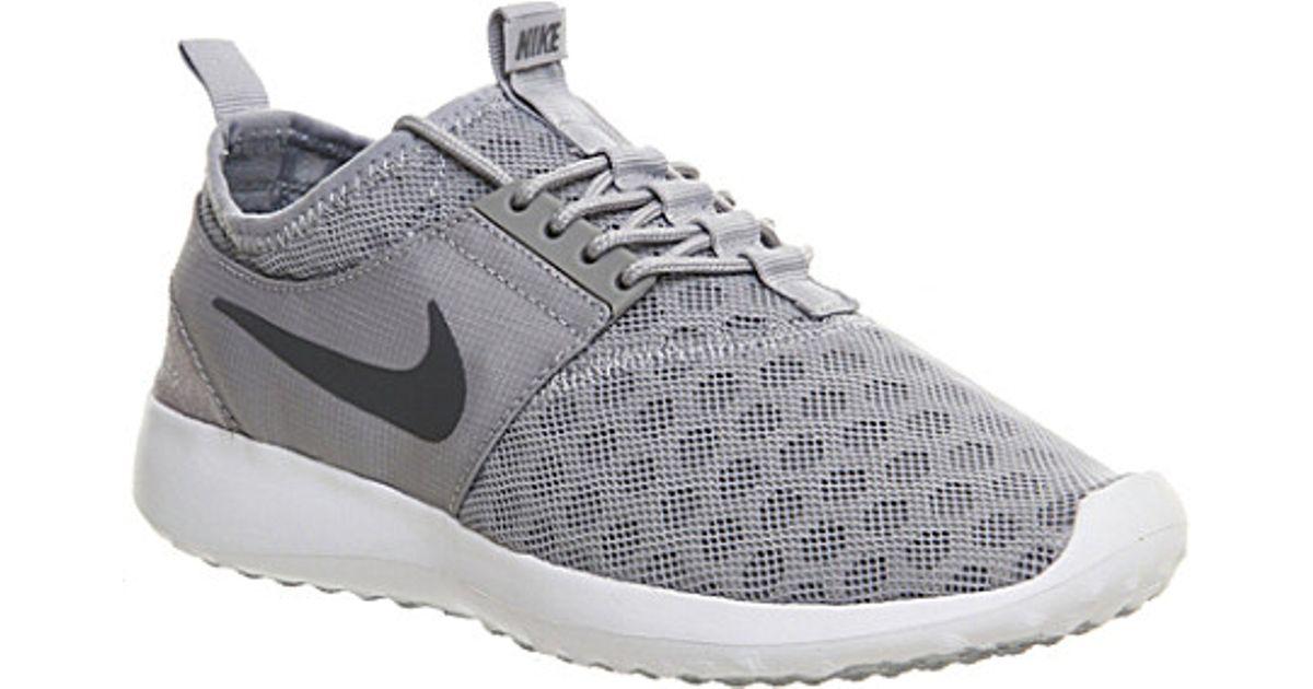 Nike Juvenate Mesh Trainers in Gray - Lyst