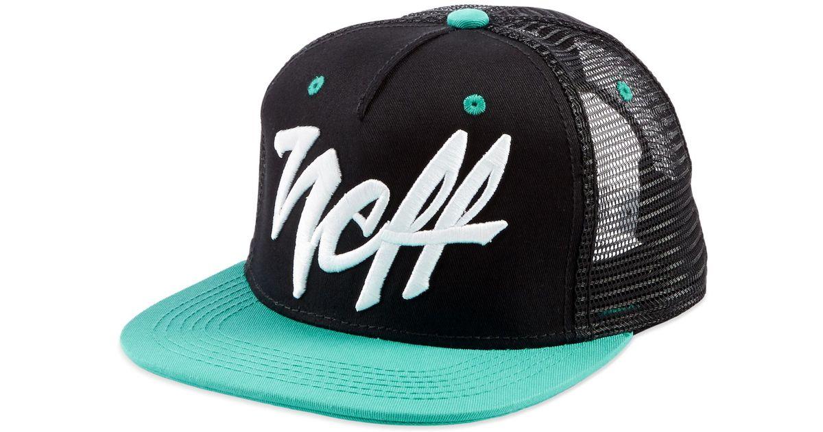 New Neff Mad Trucker Mesh Snapback Cap Hat