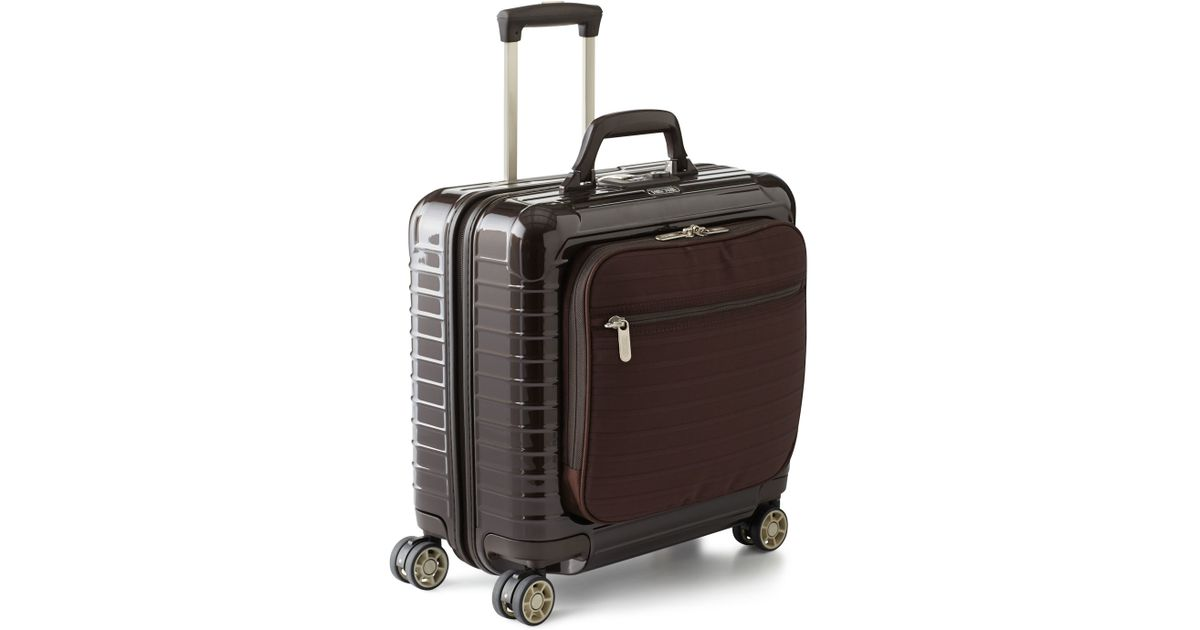 rimowa salsa deluxe hybrid business multiwheel in red for. Black Bedroom Furniture Sets. Home Design Ideas