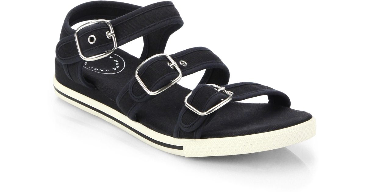 Marc Jacobs Canvas Sandals L6iDjsdWcT