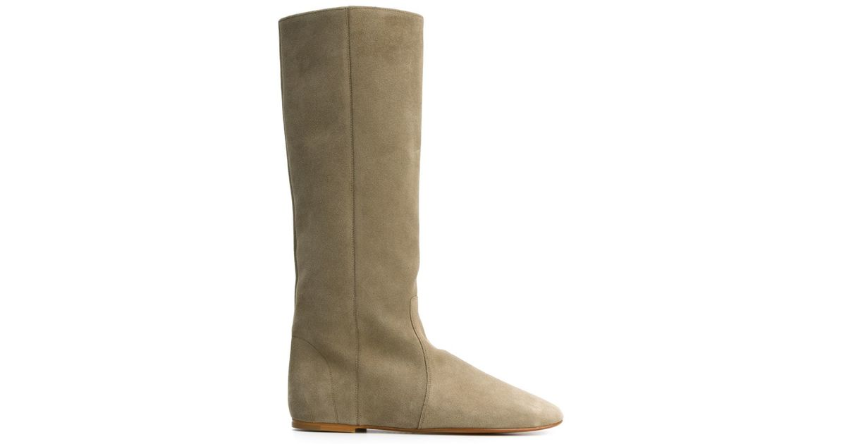 9aca1cec0b8 Isabel Marant Gray Étoile Renee Leather Boots