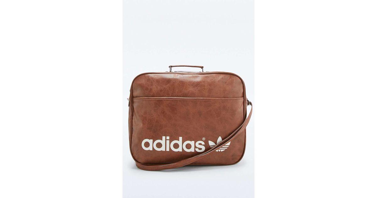 6db6827b7c79 adidas Originals Brown Vintage Airline Bag in Brown for Men - Lyst