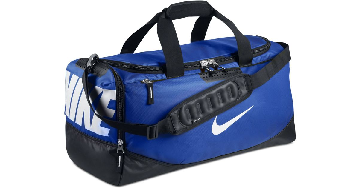 Lyst Nike Water Resistant Team Training Medium Duffle Bag In Blue For Men