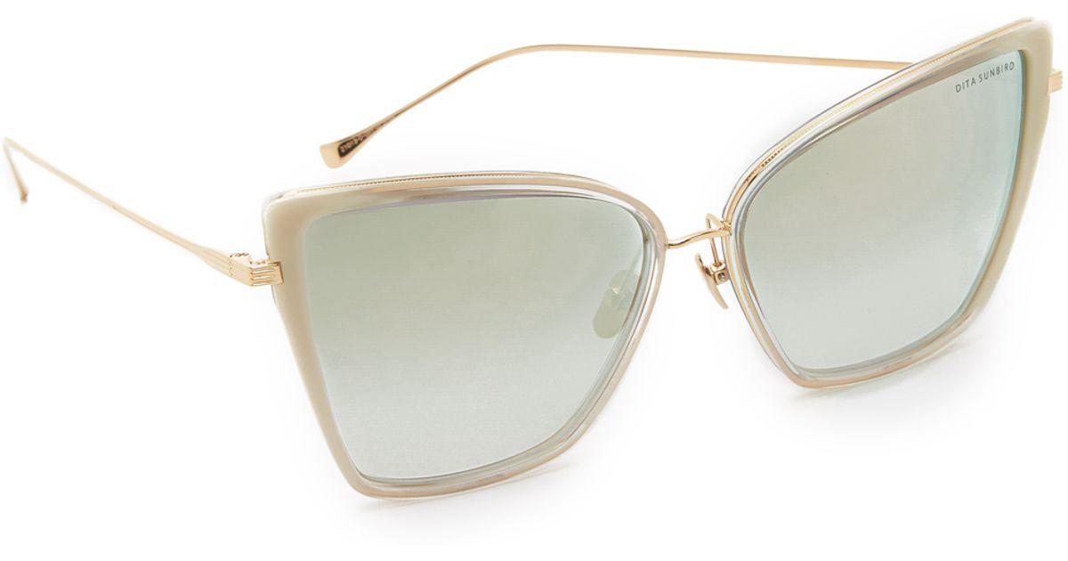 309e8ba26b9 Dita Sunbird Sunglasses in Gray - Lyst