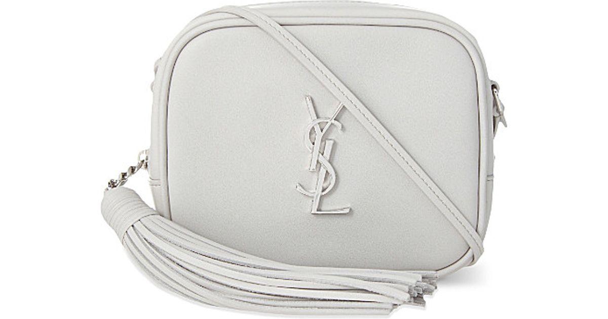 replica ysl bags - yves saint laurent leather monogram blogger bag, saint laurent ...
