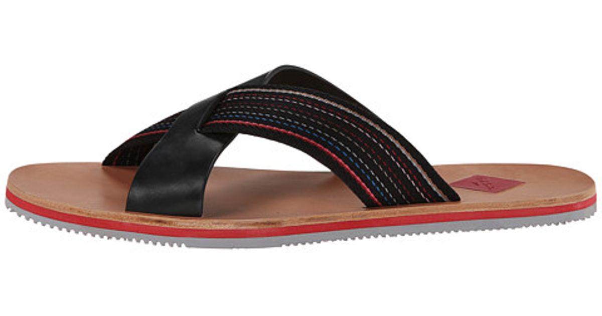 5f42fc6d06d1 Lyst - Paul Smith Jeans Kohoutek Sandal in Black for Men