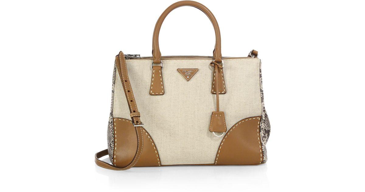Prada Double Bag Beige