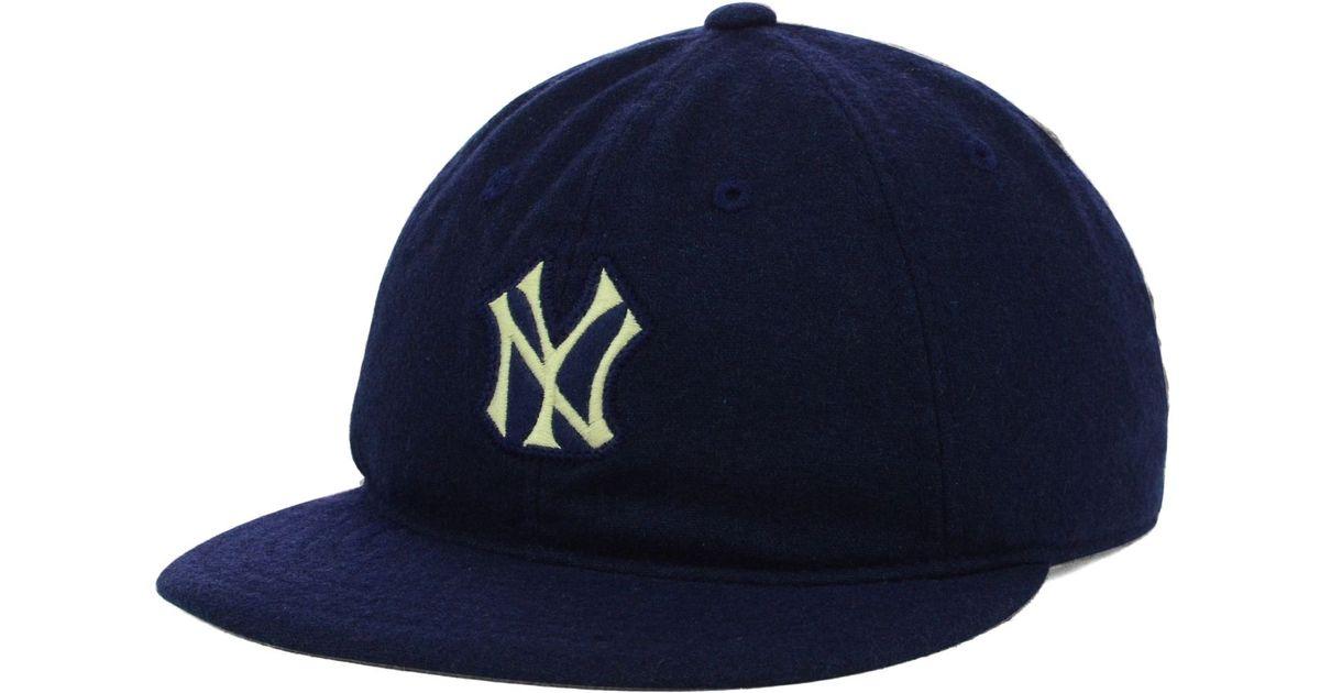 577e05cc5082d5 ... spain lyst american needle american new york yankees mlb statesman cap  in blue for men 1a9c8