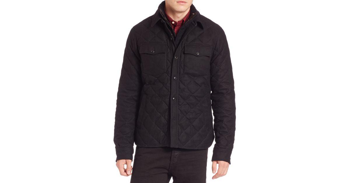 Ralph Lauren Men Polo Officer Jacket Black