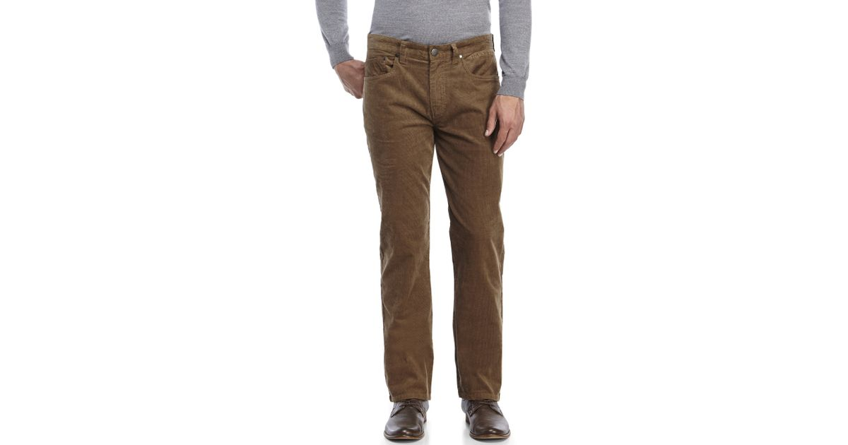 Billabong Straight Fifty Corduroy Pants in Natural for Men | Lyst