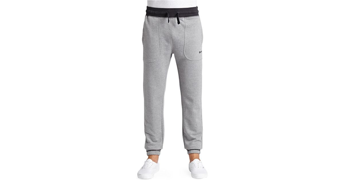 Awesome Bench Takeover Jogging Pants In Gray  Lyst