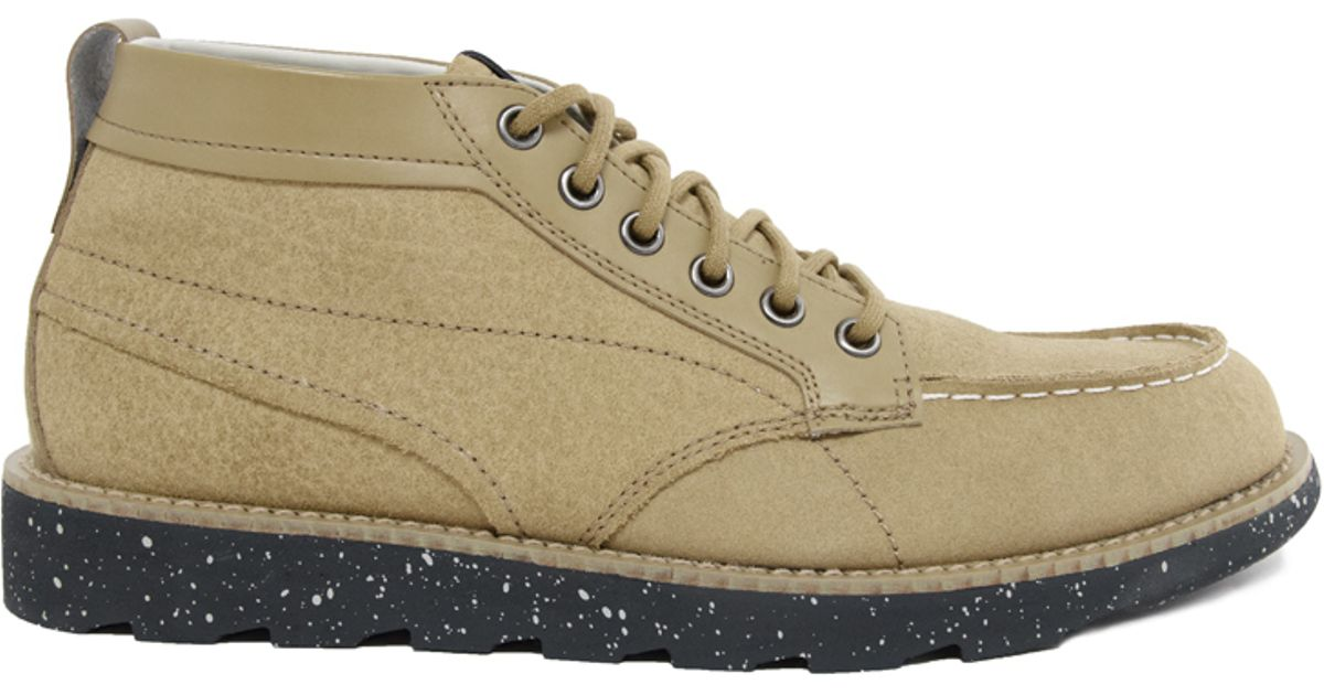 02aedbcc9f60 Lyst - PUMA By Rudolf Dassler Ruckholz Mid Chukka Boots in Brown for Men